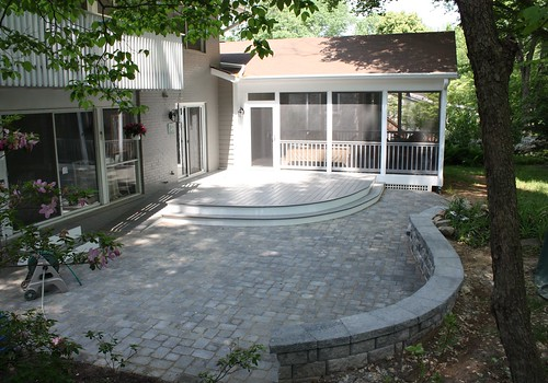 Screen Room, Deck and Patio in Potomac, MD