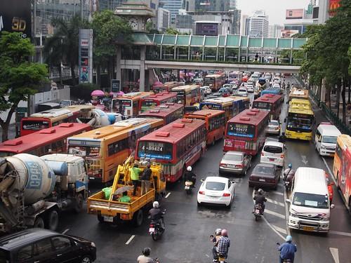 Bangkok In Transit - Tuk Tuk, Boat, Train, Foot, Car