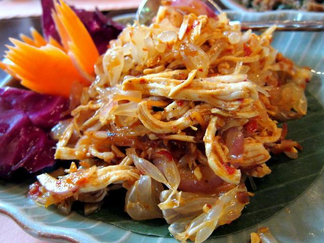 Yam Sam-O (Pomelo Salad)