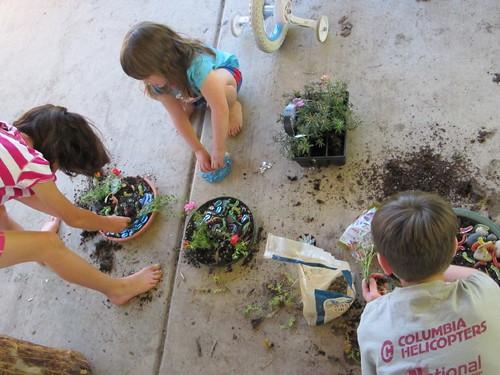 Making Dino Gardens #6