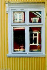...one window...four stories.... (Jordi AC) Tags: iceland islandia