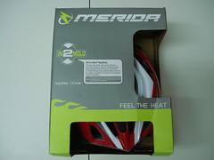 Merida MG 2 in BOX (MTB helmet) (alex456_sb) Tags: red bike helmet bicicleta merida mtb casca bikehelmet mg2 mtbhelmet meridahelmet meridamg cascaprotectie cascamtb cascamerida cascabiciclisti cascabicicleta