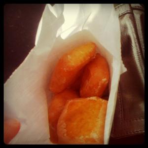 Creme Filled Donut Squares