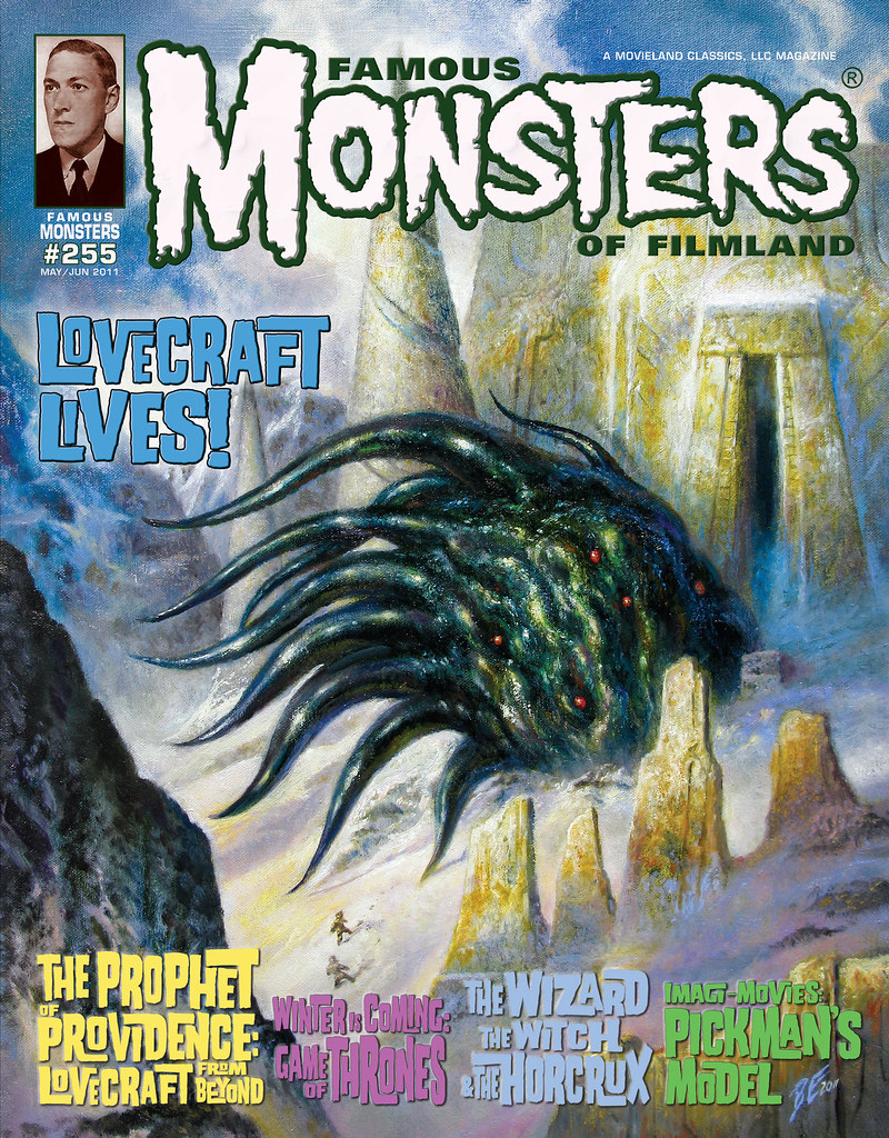 Famous Monsters 255 Mountains of Madness Lovecraft Bob Eggleton