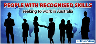 For People with Recognised Skills Seeking To Work in Australia