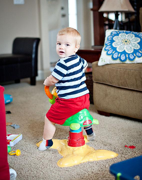 Eli's-new-toy