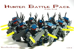 Hunter Battle Packs Coming Soon! (BrickTechStudios) Tags: world bridge 2 3 brick tower set speed soldier army star 1 tv marine jackal lego general ultimate spirit 4 bricks ghost tan halo fair banshee pelican scorpion architect elite falcon hornet wars forge collectors phantom build studios combat item prophet challenge grunt brute spartan mongoose evolved warthog wraith tlc drone tlg 2011 revenant odst skirmisher