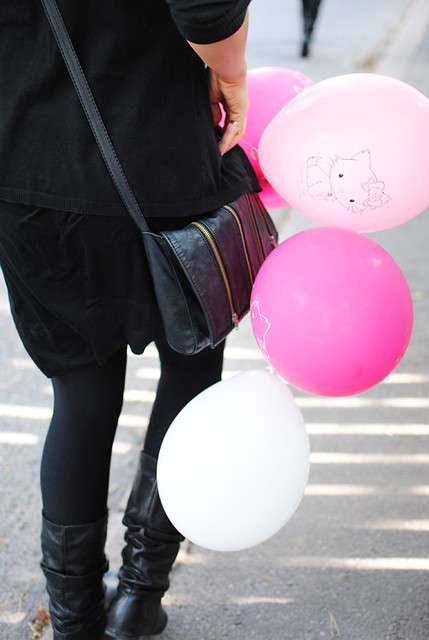 Hello balloons