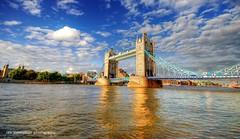 london  bridge is not falling down (sold 2x ) (Rex Montalban Photography) Tags: greatbritain england london towerbridge londonbridge europe unitedkingdom hdr towerhill photomatix rexmontalbanphotography pselements9