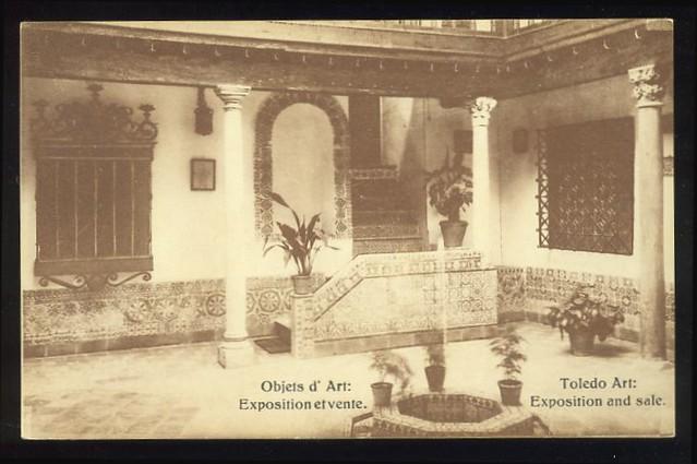 Patio Toledano a comienzos del siglo XX