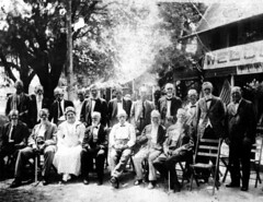Civil war veteran reunion at Forty Oaks (State Library and Archives of Florida) Tags: florida reunions umatilla civilwarveterans statelibraryandarchivesofflorida fortyoaks williammosesbrantley 2ndfloridacavalry