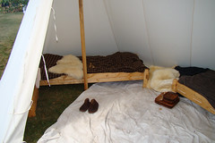 Typical Tent (canadianlookin) Tags: history festival iceland manitoba celebration reenactment gimli icelandicfestival islendingadagurinn