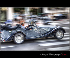 Old car panning - HDR (Margall photography) Tags: old car photography montecarlo monaco marco morgan panning hdr galletto margall