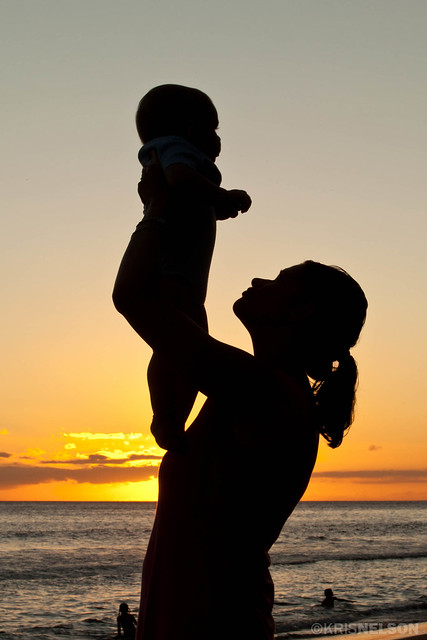 Baby Sunset Silhoutte