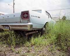 Galaxy 500 (michaelgoodin) Tags: blue sky ford 120 mamiya film mediumformat pittsburgh fuji pennsylvania september galaxy pros pro 6x7 500 rb67 2011 natrona 160s