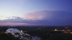 September 1st, 2011 supercell (Pierre-Paul Feyte) Tags: storm twilight crpuscule garonne orage anvil lightnings supercell clair auvillar enclume supercellule