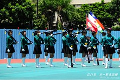 2011.8.25  () Tags: school color girl high guard band honor first marching taipei