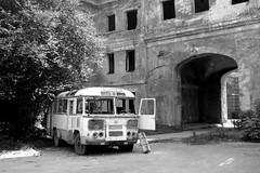 Sukhumi / Аҟәа (Abkhazia) - Ruins (Danielzolli) Tags: bus car georgia destruction autobus demolicion destroy akwa aqwa sakartvelo demolizione zerstört zerstörung kartuli abkhazia georgien heruntergekommen abhazia საქართველო gruzija sukhumi sukhum абхазия gruzja abchasien suchumi sokhumi apsny აფხაზეთი сухум avtobus futuristicbus zniszczenie грузия апсны аҧсны сухуми abcasia apxazeti abchazija abchazja სოხუმი soxum sochumi apchazeti сохуми аҟәа