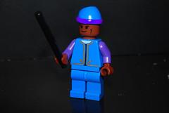 Kingsley Shacklebolt (legoskf) Tags: phoenix order lego harry potter kingsley hallows minifigure the deathly shacklebolt auror