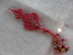 Orecchinoi Parure rossa (patty macram) Tags: macrame gioielli immagini orecchini macram macramgioielli macrambijoux macramlavori macrammargarete macramimmagini