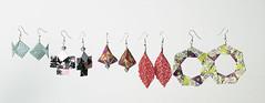 Origami création - Didier Boursin - Frise boucles d'oreilles