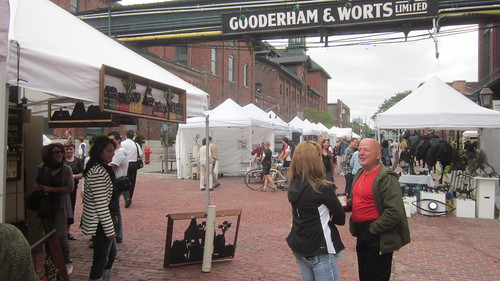 ArtFest at The Distillery District in Toronto, Sept 2011,