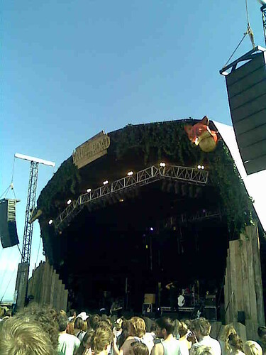 the woods stage