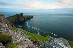 Slow Ocean - Neist Point Lighthouse , Isle of Skye , Scotland (Tommaso Renzi) Tags: sunset lighthouse skye point scotland isleofskye tommaso lee filters polarizer neist renzi heliopan slowoceanneistpointlighthouse