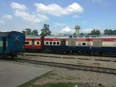 JAT NDLS rajdhani in yard of JAT station (akshaypatil™ ® photography) Tags: