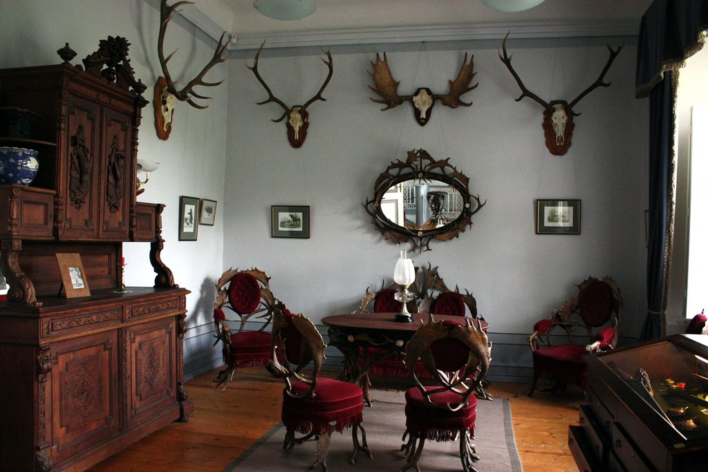 Hunting room in Sagadi manor