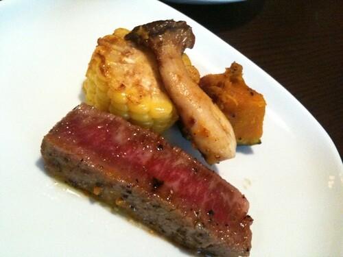 竹福のヒレ肉。