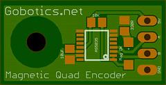 Magnetic Quad Encoder board