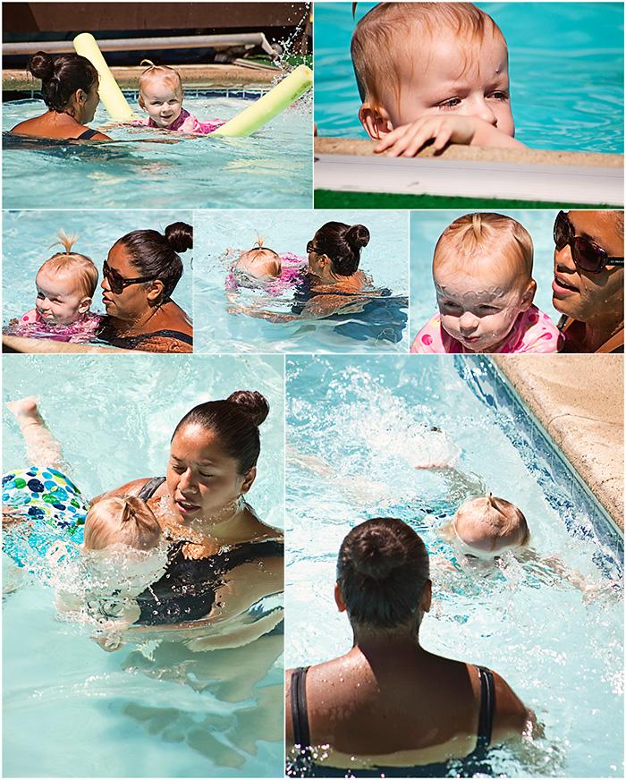 Swimming Hannah