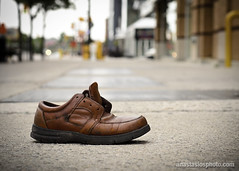 The Shoe (AnastasiosPhoto) Tags: street shoe bokeh nikon50mm18 d7000 blinkagain