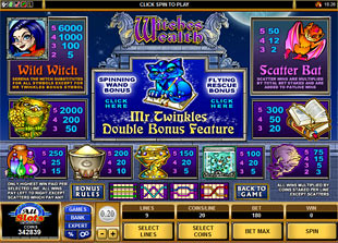 free Witches Wealth slot mini symbol