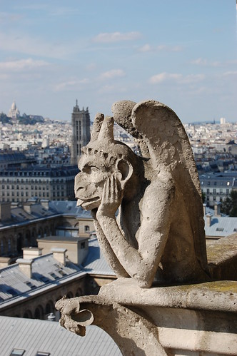 Chimera on top of Notre Dame