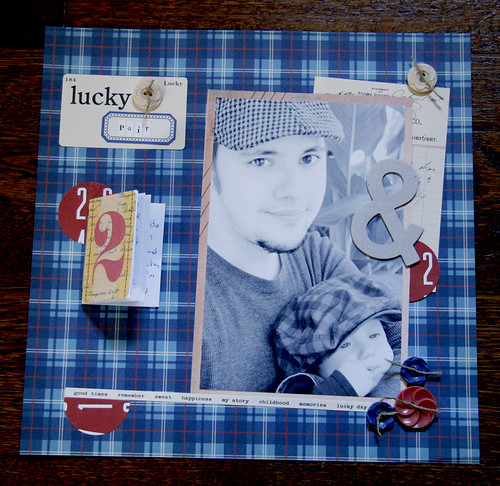 Lucky Pair - Tiny Book Tutorial