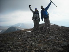 Top of Parry Peak - Highest Point on the CDT