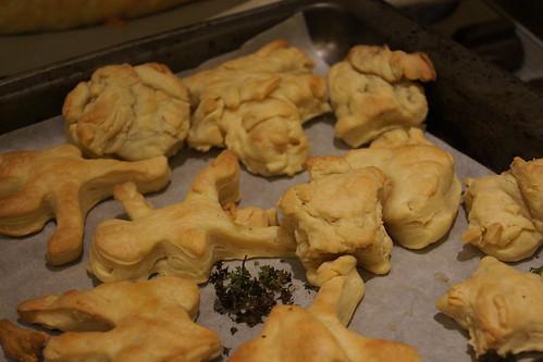 Cornish Pasties - Left over pastry