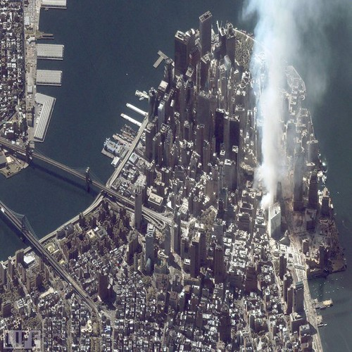 sept 11, 2001 Manhattan