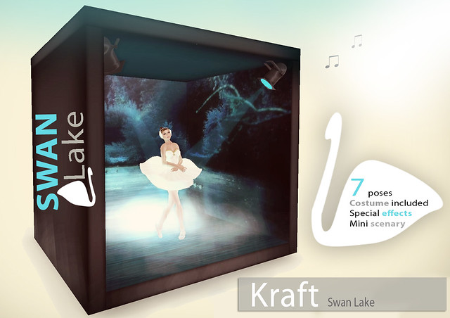 [Kraft] Swan Lake Mini-scenery