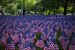 Remember (mgstanton) Tags: boston publicgarden 911flagmemorialremember