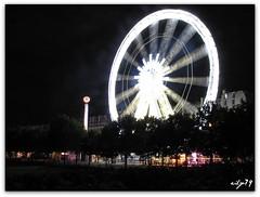 Luna park delle Tuileries (*eily*) Tags: paris night shot panoramica lunapark tuileries ruota parigi notturno