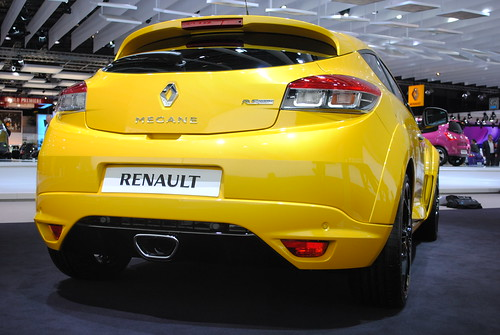 Renault Megane RS Trophy  at the Frankfurt Motor Show IAA 2011