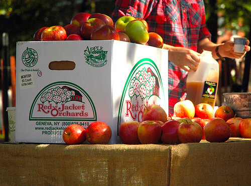 Red Jacket Orchards apples