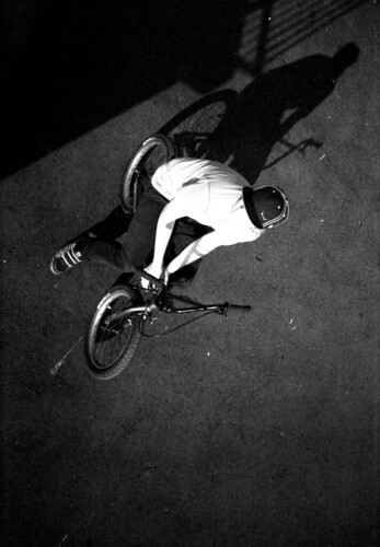 BMXer (Ols) From Above