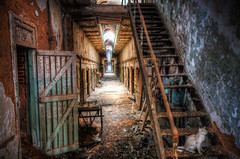 Abandoned (Sky Noir) Tags: abandoned philadelphia dark state decay rusty haunted creepy prison jail philly eastern esp crusty uban penitentiary urbanexplorers skynoir bybilldickinsonskynoircom