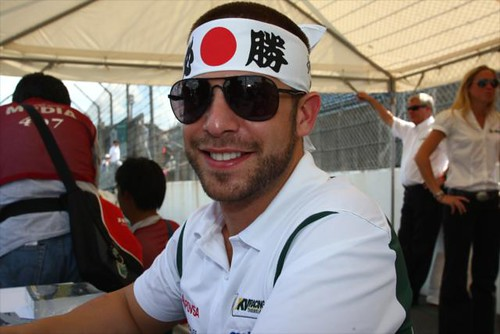 EJ Viso showing some Japanese spirit