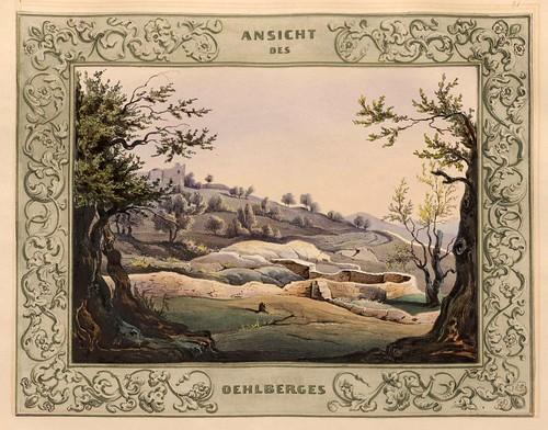 021-Vista del Monte de los Olivos- Jerusalem-Malerische Ansichten aus dem Orient-1839-1840- Heinrich von Mayr-© Bayerische Staatsbibliothek
