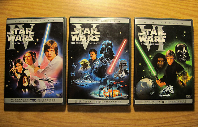 Star Wars Trilogy On DVD